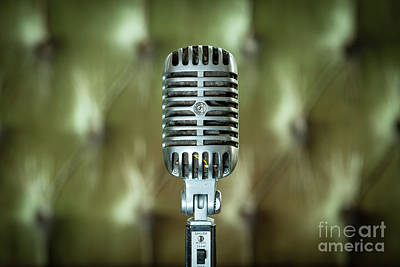 Photograph - Classic Shure 555w Microphone by Brian Jannsen