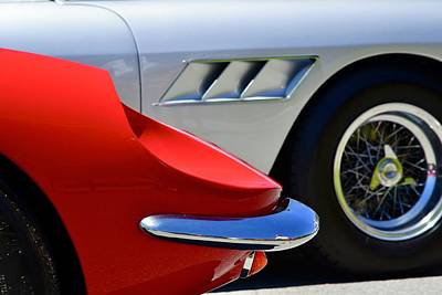 Photograph - Classic Sports Car Details by Dean Ferreira