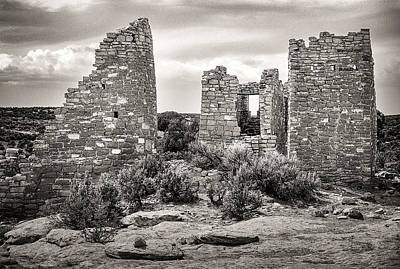 Photograph - Classic Stonework Hovenweep National Monument. by John Brink