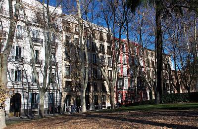 Photograph - Classic Street In Madrid by David Resnikoff