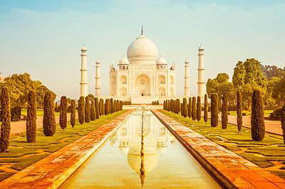 Photograph - Classic Taj Mahal by Nila Newsom