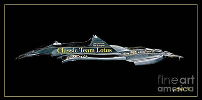Photograph - Classic Team Lotus by Tom Griffithe