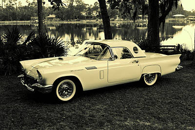 Photograph - Classic Thunderbird by Lynne Thompson