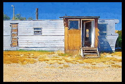 Art Print featuring the photograph Classic Trailer by Susan Kinney