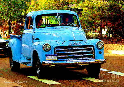 Photograph - Classic Truck by Christine S Zipps