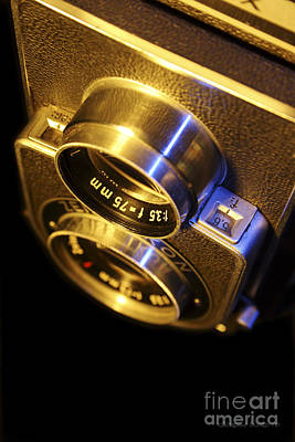 Classic Twin Lens Reflex Camera Art Print by Gordon Wood