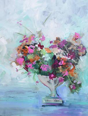 Painting - Classic Vase Blue by Karen Ahuja