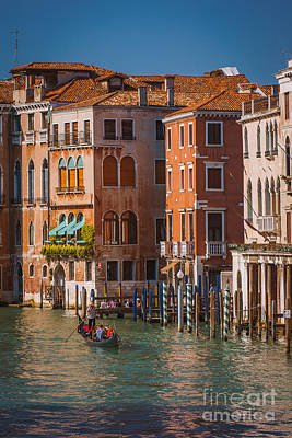 Photograph - Classic Venice by Jeffrey Worthington