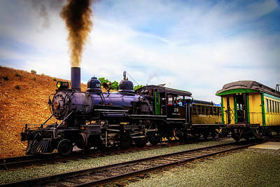 Virgina Photograph - Classic Virgina Truckee Steam Train by Garry Gay