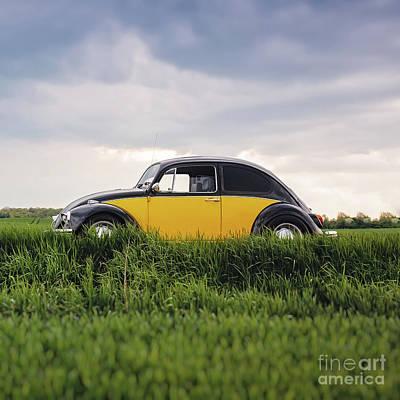 Photograph - Classic Vw Bug by Edward Fielding