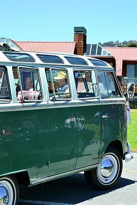 Photograph - Classic Vw Bus by Dean Ferreira