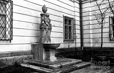 Photograph - Classic Water Fountain In Salzburg by John Rizzuto