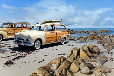 Woody Photograph - Classic Woodies by Sean Davey