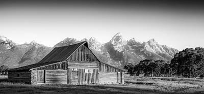 Teton Wall Art - Photograph - Classic Wyoming by Peter Irwindale