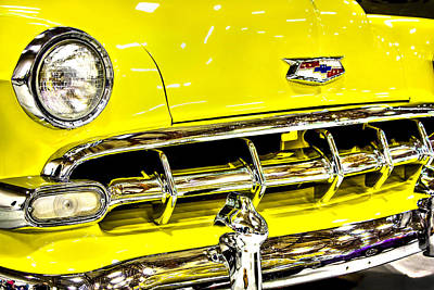Photograph - Classic Yellow Chevrolet by Tyra OBryant
