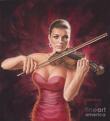 Painting - Classical Beauty by Dick Bobnick