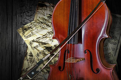 Randall Nyhof Royalty Free Images - Classical Cello Royalty-Free Image by Randall Nyhof