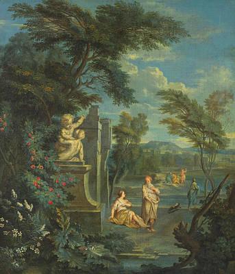 Painting - Classical Figures by Aelbert Meyeringh
