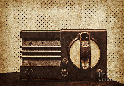 Radio Wall Art - Photograph - Classical Sound by Jorgo Photography - Wall Art Gallery