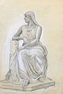 Drawing - Classical Statue by Alejandro Lopez-Tasso