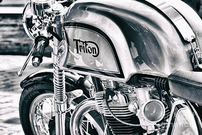 Photograph - Classical Triton Cafe Racer by Tim Gainey