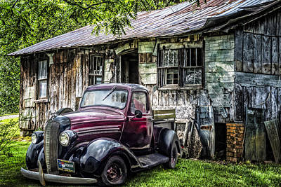 Classically Country Art Print by Debra and Dave Vanderlaan
