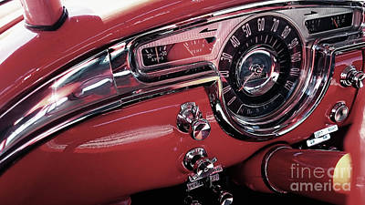 Photograph - Classics Dashboard by Mariella Wassing