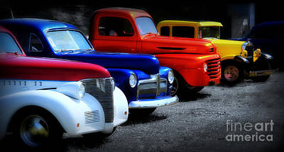Chrome Grill Photograph - Classics by Perry Webster