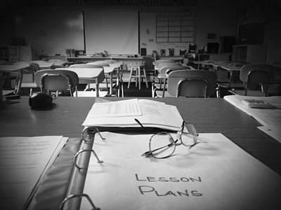 Photograph - Classroom by Joyce Kimble Smith