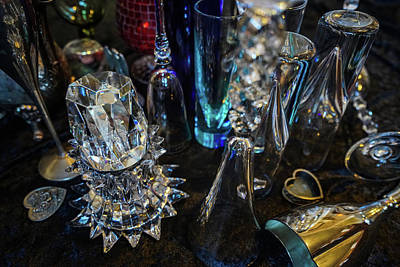 Photograph - Classy Glass by Kenneth James