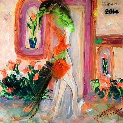 Painting - Classy Lady by Annette McElhiney