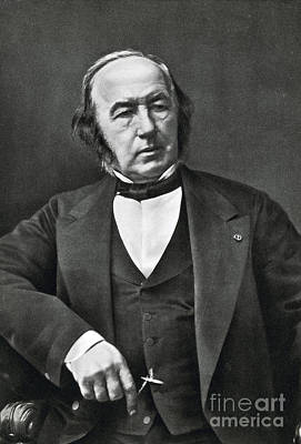Claude Bernard, French Physiologist Art Print