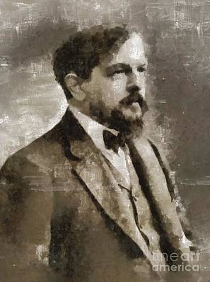 Claude Debussy, Composer Art Print by Mary Bassett