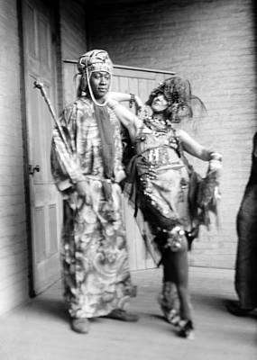 Dada Photograph - Claude Mckay And Baroness Von by Everett