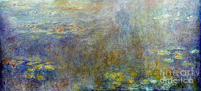 Photograph - Claude Monet: Waterlilies by Granger