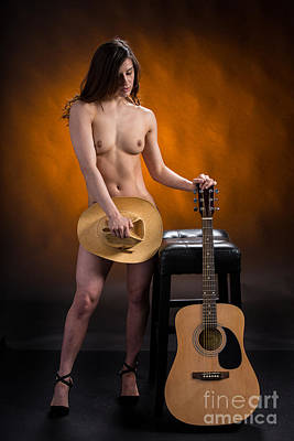 Female Photograph - Claudia Nude Fine Art Print In Sensual Sexy Color 4874.02 by Kendree Miller