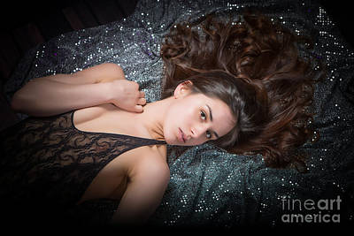 Erotic Photograph - Claudia Nude Fine Art Print In Sensual Sexy Color 4884.02 by Kendree Miller
