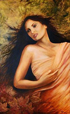 Painting - Claudia by Patricia Ann Dees