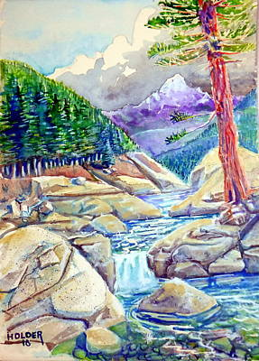 Painting - Clavey River by Steven Holder