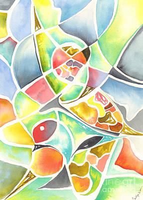 Painting - Claw by Carolyn Weir
