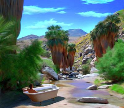 Canyon Mixed Media - Clawfoot by Snake Jagger