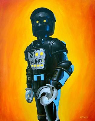 Robots Painting - Clawtron by Matt Ebisch