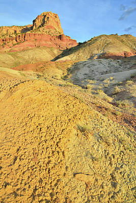 Photograph - Clay Dunes And Butte by Ray Mathis