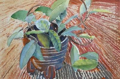 Clay Pot Art Print