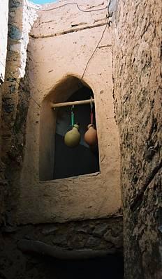 Clay Water Bottles In Oman Art Print by Gosta Eger