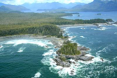 Photograph - Clayoquot Sound by Frank Townsley