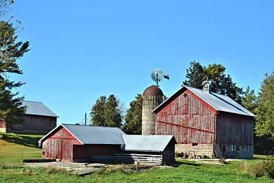 Photograph - Clayton Farm by Bonfire Photography