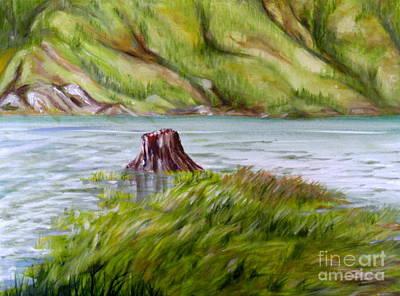 Painting - Clayton Inlet by Ida Eriksen