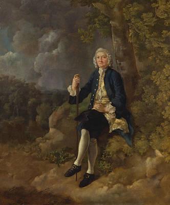18th Century Painting - Clayton Jones by Thomas Gainsborough