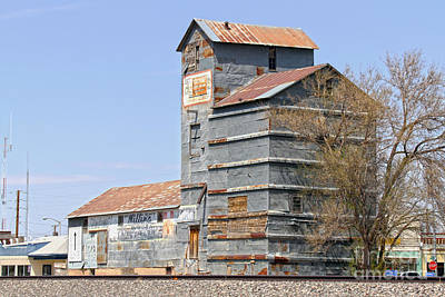 Photograph - Clayton, New Mexico, Grain Mill by Catherine Sherman